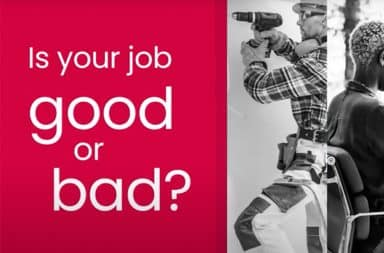 Is your job good or bad?